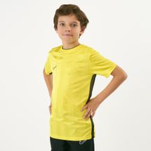 Nike Kids' Breathe Academy Football Top (Older Kids) Yellow