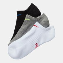 Nike Kids' Performance Cushioned No-Show Socks (3 Pair)