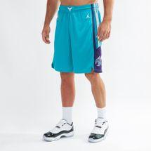 Nike NBA Charlotte Hornets Jordan Icon Edition Swingman Basketball Shorts