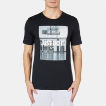 "Nike ""Just Do It"" Image T-Shirt Black"