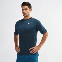 Nike Dri-FIT Medalist Running T-Shirt Blue