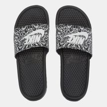 Nike Benassi Just Do It PrintSlide Sandals Black