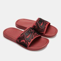 Nike Men's Benassi JDI SE Slides Red