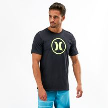 Hurley Circle Icon Dri-FIT T-Shirt Black