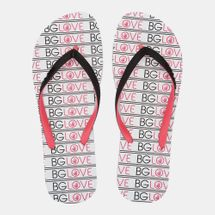 Body Glove Old Skool Flip Flops White