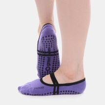 Great Soles Women's Ballet Grip Socks - Purple, 1481643