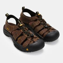 Keen Newport Bison Hybrid Leather Sandals, 164636