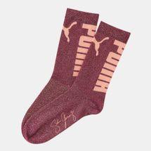 PUMA Women's x Selena Gomez Shimmer Socks (1 Pair)