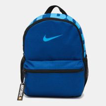 Nike Kids' Brasilia Just Do It Backpack (Mini) (Older Kids) - Blue, 1223595