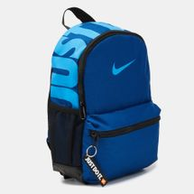 Nike Kids' Brasilia Just Do It Backpack (Mini) (Older Kids) - Blue, 1223597