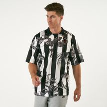 Nike Men's Sportswear Print Stripe Football T-Shirt