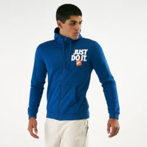Nike Men's Sportswear Full Zip Fleece Hoodie
