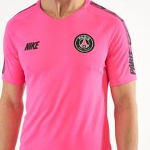 Nike Men's Breathe Paris Saint Germain Squad Football T-Shirt, 1546854