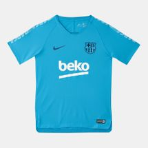 Nike Kids' FC Barcelona Breathe Squad Football Top (Older Kids) - 2018/19