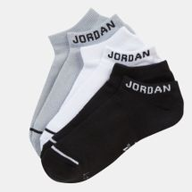 Nike Jumpman No-Show 3 Pair Socks Black