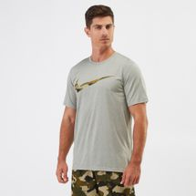 Nike Dry Legend Camo Swoosh T-shirt Grey