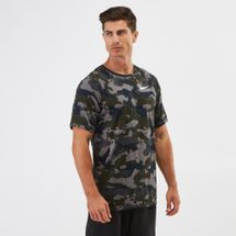 Nike Dry Legend Camo AOP T-shirt Grey
