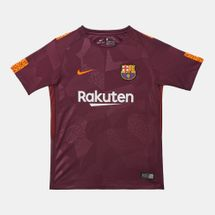 Nike Kids' Breathe FC Barcelona Stadium Third Jersey - 2017/18 (Older Kids)