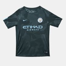 Nike Kids' Manchester City FC Third Stadium Football Jersey – 2017/18