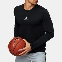 تيشيرت كرة السلة التيميت فلايت بيرفورمانس طويل الأكمام من جوردن