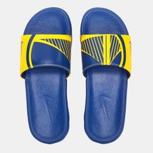 Nike NBA Golden State Warriors Benassi Solarsoft Slides