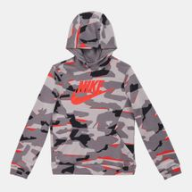 Nike Kids' NSW Pullover Allover Print Hoodie (8-15 years)