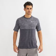 Nike Dri-FIT Medalist Running T-Shirt Grey
