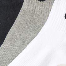 Nike Cotton Cushioned Quarter Socks - Set of 3, 668099