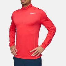 Nike Golf Dry Knit Half-Zip Long Sleeve Top