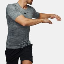 Nike Pro Heather Compression T-Shirt