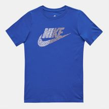 Nike Kids' Half Futura T-Shirt (Older Kids) Blue