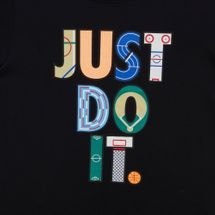 Nike Kids' Sportswear Geometry Just Do It T-Shirt (Older Kids), 1158493