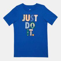 Nike Kids' Sportswear Geometry Just Do It T-Shirt (Older Kids)