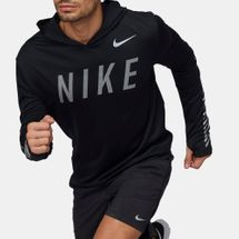 Nike Dry Miler Flash Reflective Running Hoodie