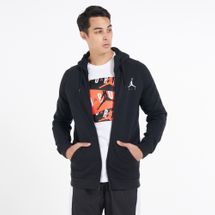 Jordan Men's Jumpman Air-fleece Full-zip Hoodie