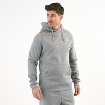 Jordan Men's Jumpman Air Fleece Pullover Hoodie Grey
