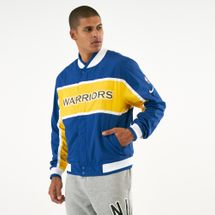 Nike Men's NBA Golden State Warriors Courtside Jacket