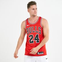 Nike Men's NBA Lauri Markkanen Chicago Bulls Icon Edition Swingman Jersey