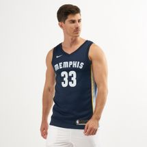 Nike Men's NBA Memphis Grizzlies Marc Gasol Icon Edition Swingman Jersey
