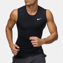 a6910f347d6e1e Nike Pro Compression Sleeveless Training T-Shirt