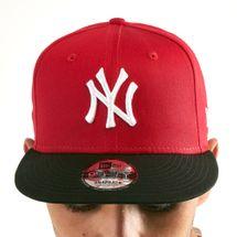 New Era Men's MLB New York Yankees Cotton Block 9FIFTY Cap, 1603666