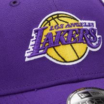 New Era Men's NBA Los Angeles Lakers 9Forty Adjustable Cap - Purple, 1581966