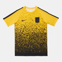Nike Kids' Dri-FIT Neymar Jr Academy Football T-Shirt Yellow