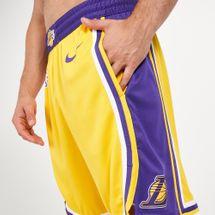 Nike NBA Los Angeles Lakers Road 18 Swingman Shorts, 1307746