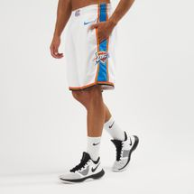 Nike NBA Oklahoma City Thunder Swingman Home Shorts - 2018