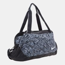 Nike Legend Club Print Duffel Bag - Black, 159580