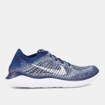 Nike Men's Free RN Flyknit 2018 Shoe Blue