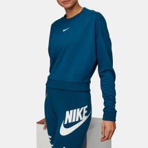 Nike Long Sleeve Crewneck Crop T-Shirt