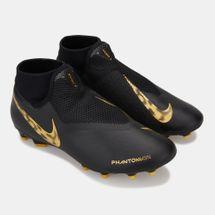 Nike Men's Black Lux Phantom Vision Academy Dynamic Fit Multi-Ground Football Shoe, 1521892