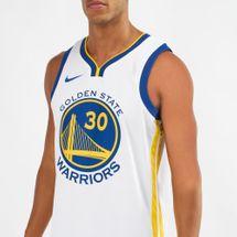 Nike NBA Golden State Warriors Stephen Curry Association Edition Swingman Jersey, 1296817